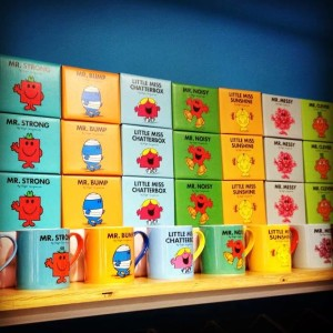The ever so popular Mr Men and Little Miss Mugs!